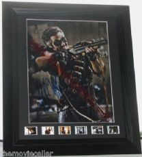 "JEFFREY DEAN MORGAN SIGNED  ""WATCHMEN"" SIGNED  FRAMED AUTOGRAPH"